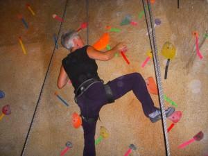 diana rock climbing